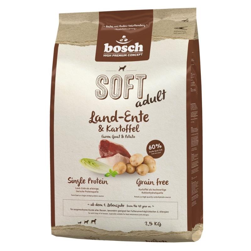 Bosch Soft Adult - Land-Ente & Kartoffel 2.5 kg 4015598009249