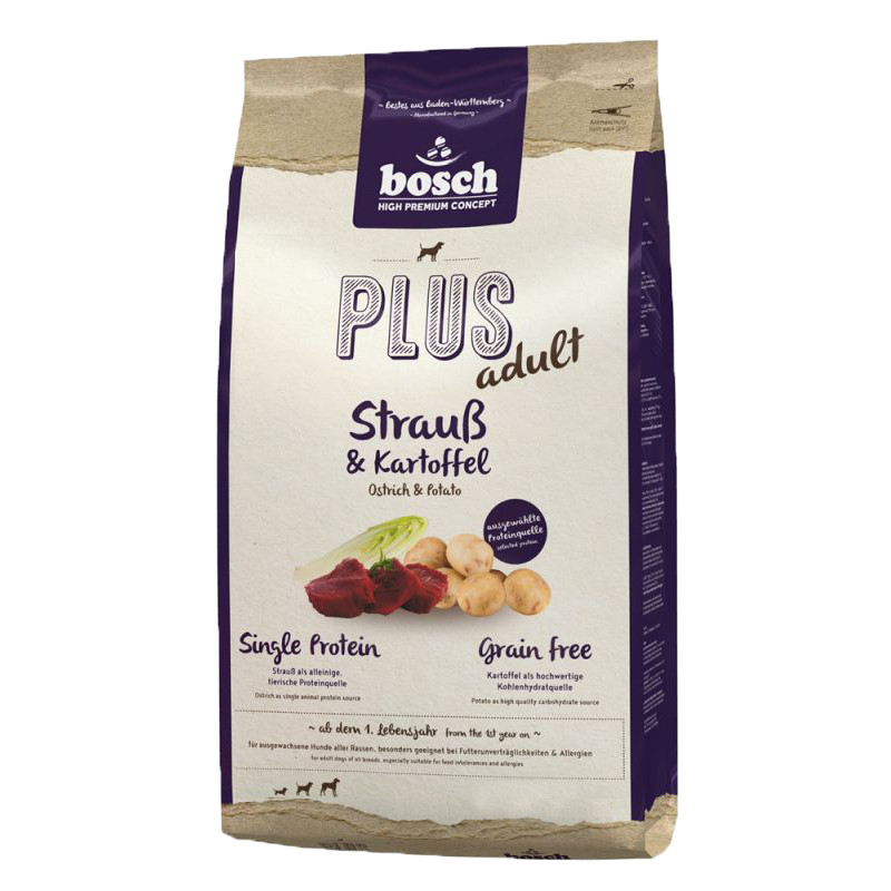 Bosch Plus Adult - Strauß & Kartoffel 1 kg