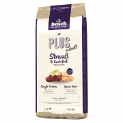 Plus Adult - Ostrich & Potato Bosch 2.5 kg, 12.5 kg, 1 kg