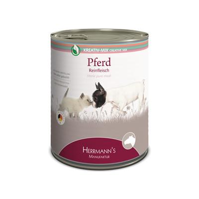 Herrmann's  Kreativ-Mix Paard Puur in Blikje 800 g, 400 g, 200 g, 100 g