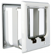 4-Way Cat Flap, electromagnetic Hvit
