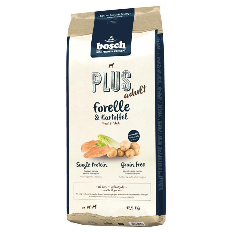 Bosch Plus Adult - Forelle & Kartoffel 12.5 kg
