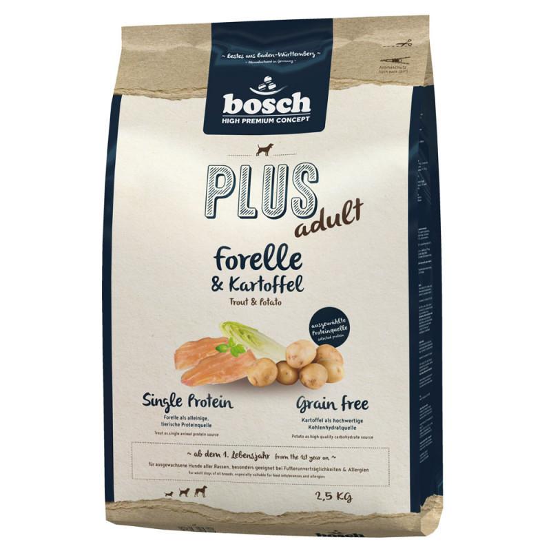 Bosch Plus Forel & Aardappel 2.5 kg 4015598009041