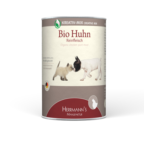 Herrmann's  Kreativ-Mix Bio-Kip Puur in Blikje 400 g