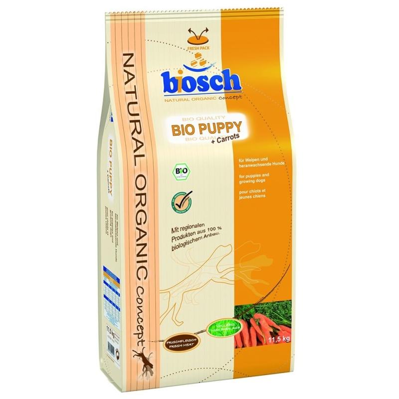 Bosch Natural Organic Concept - Bio Puppy avec Carottes 11.5 kg 4015598002110 avis