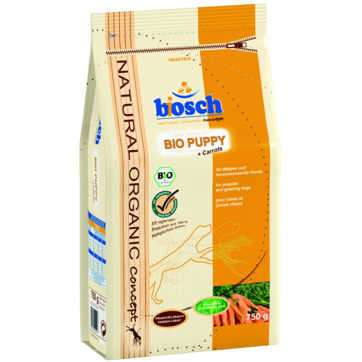 Bosch Natural Organic Concept - Bio Puppy avec Carottes  750 g