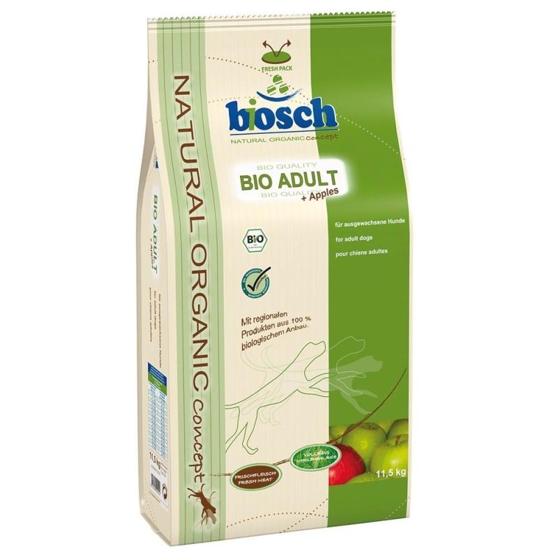 Bosch Natural Organic Concept - Bio Adult + Pommes 11.5 kg, 3.75 kg, 750 g