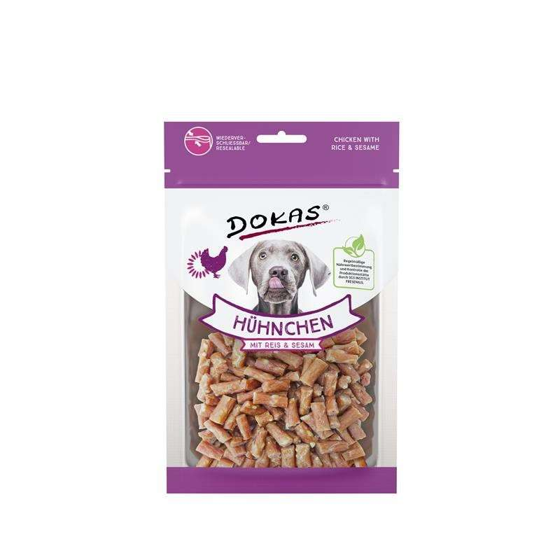Poultry Chicken with Rice & Sesame 70g by Dokas Buy fair and favorable with a discount