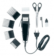 1400 Animal Hair Clipper Set Svart