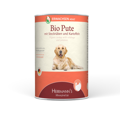 Organic Food Bio-Turkey Adult 12x400 g  by Herrmann's  Buy fair and favorable with a discount