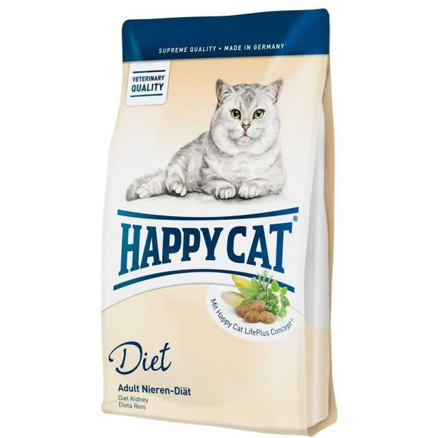 Happy Cat Diet Nedsat nyrefunktion 1.4 kg, 1.80 kg, 300 g test