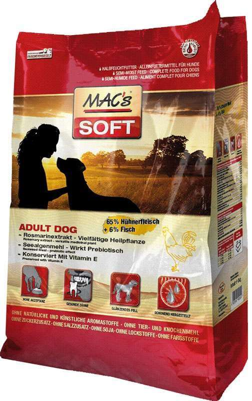 MAC's Soft - Adult with Chicken 1.5 kg 4027245902209 anmeldelser