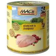 MAC's Cani - Pollo & Mirtilli rossi 800 g