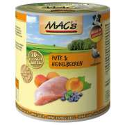 MAC's Dog - Dinde & Myrtille 800 g