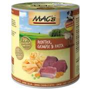 MAC's  Dog - Reindeer, Vegetables & Pasta, Canned 800 g