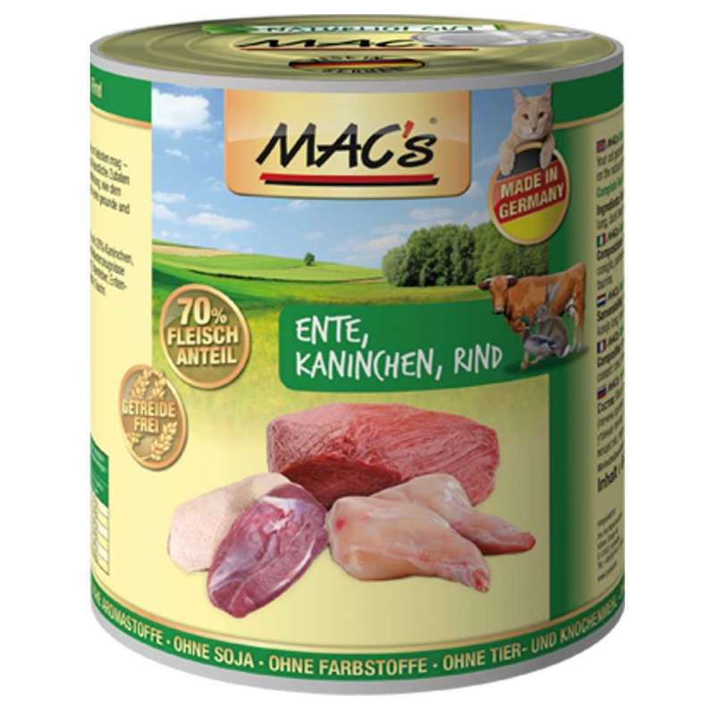 MAC's Cat - Duck, Rabbit & Beef EAN: 4027245008673 reviews