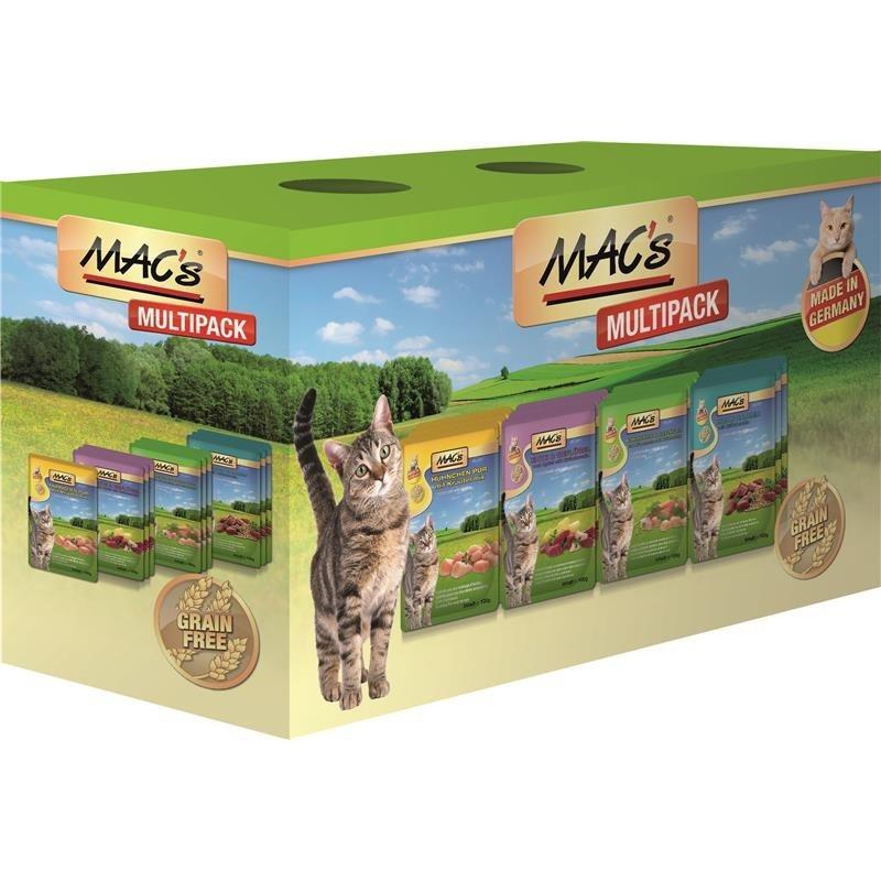MAC's Pouchpack Multipack con carne 12x100 g