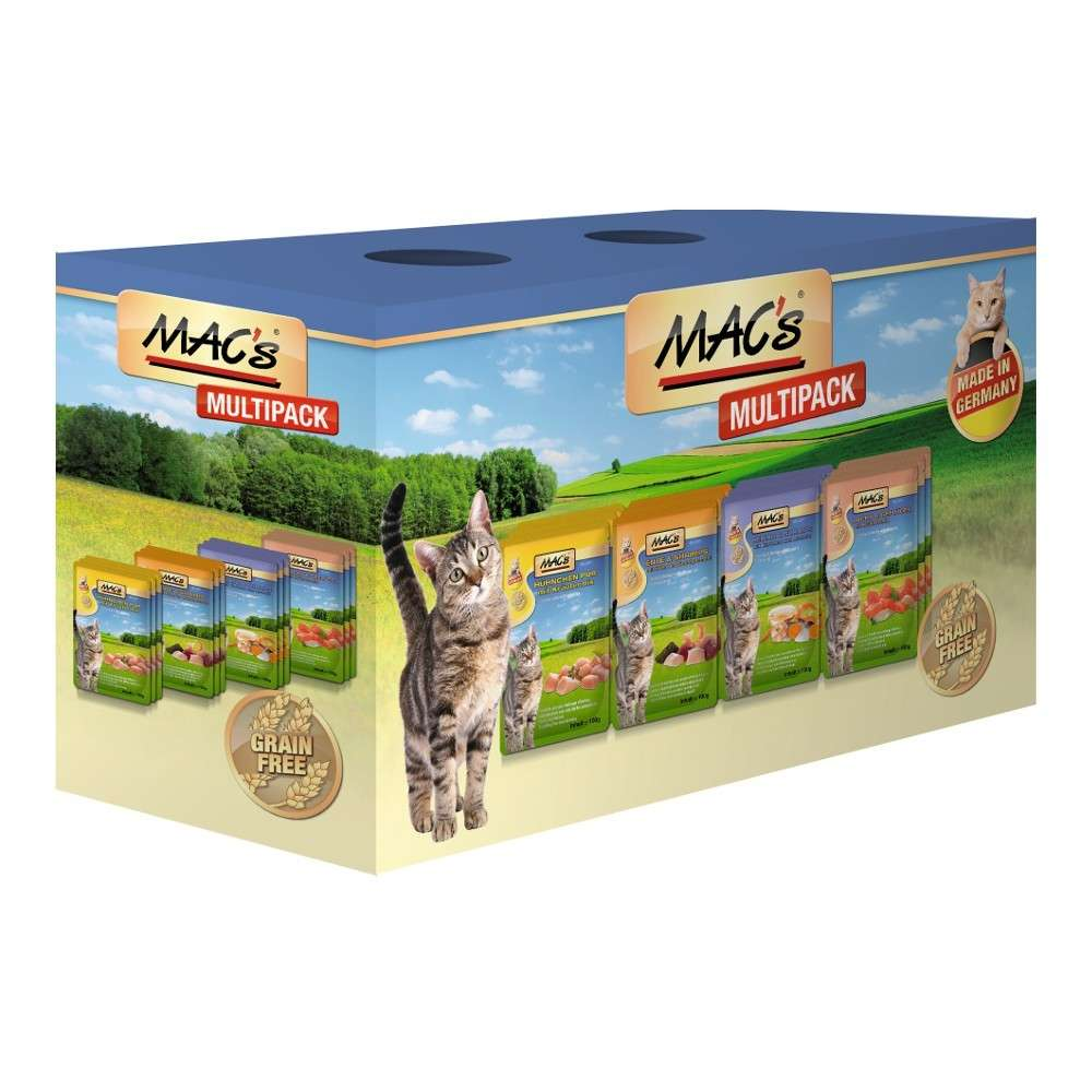Pouch - Multipack with Fish by MAC's 12x100 g buy online