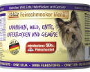 MAC's Feinschmecker Menü - Rabbit, Venison, Duck with Oatmeal & Greens canned Art.-Nr.: 20212