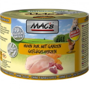 MAC's Cat - Chicken & Chicken Hearts canned 200 g
