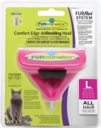 FURflex Comfort Edge deShedding Head for Cats L