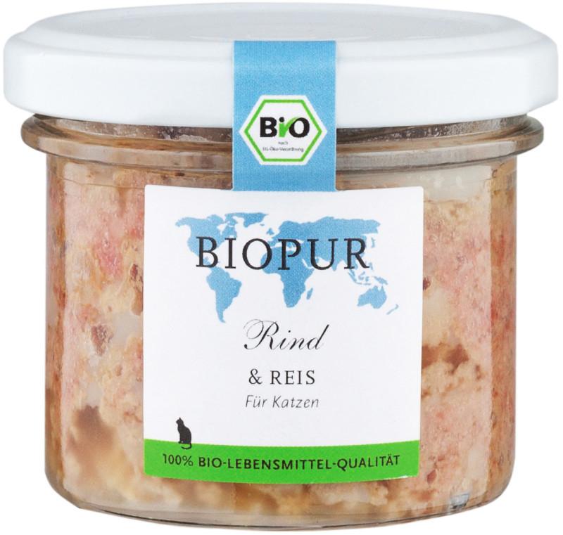 BIOPUR BIO Bœuf & Riz 100 g
