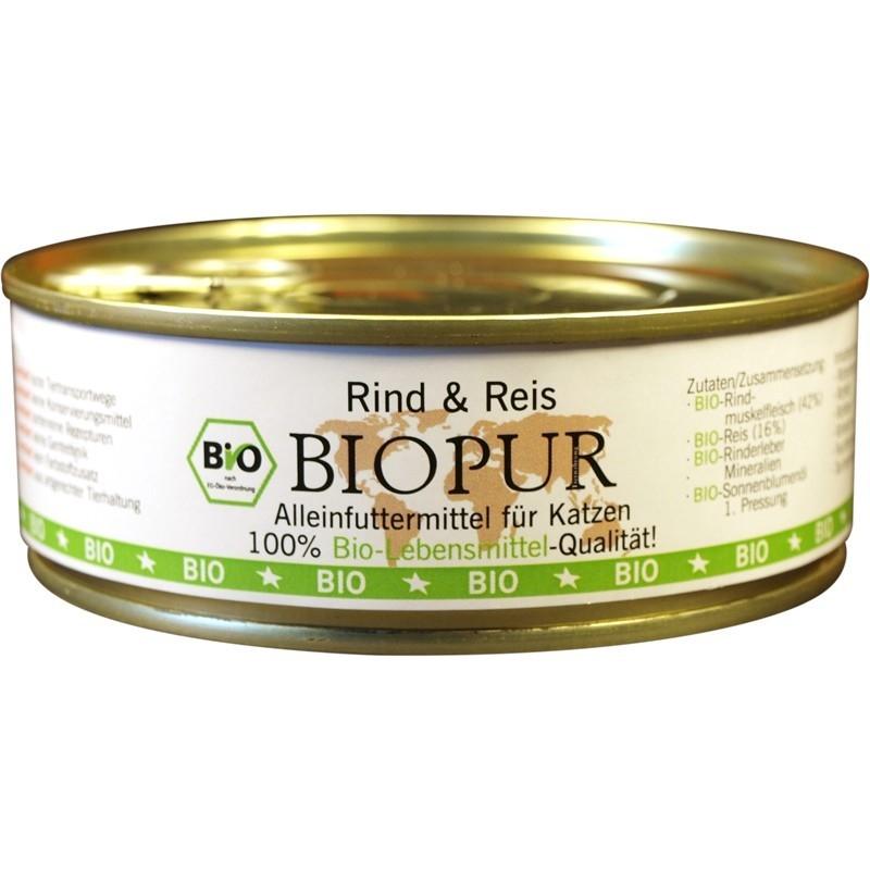 BIOPUR BIO Bœuf & Riz 200 g