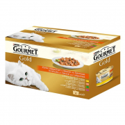Gourmet Gold - Tender Morcels in Sauce with Vegetables - Multipack 4x85 g
