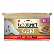 Purina Gourmet Gold - Double Delicacies with Beef & Chicken 85 g