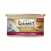 Purina Gourmet Gold - Tender Morcels in Gravy with Chicken & Liver 85 g