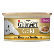 Purina Gourmet Gold Møre Bidder, Kalkun & And 85 g
