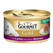 Purina Gourmet Gold - Fine Pâté with Lamb and Green Beans