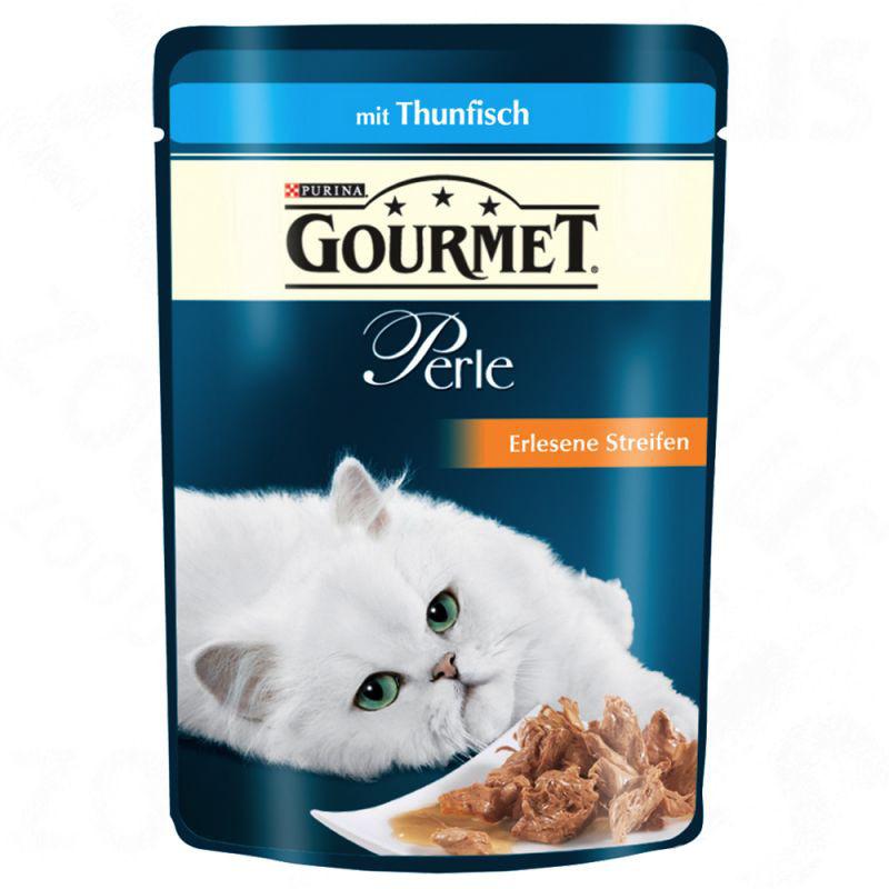 Purina Gourmet Perle Kokkens Samling Multipack 4x85 g