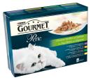 Purina Gourmet Perle lamelles de Viande et légumes (lapin, agneau ,veau, poulet, légumes. carotte) 8x85 g