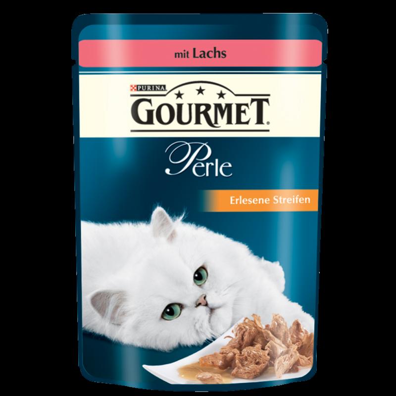 Purina Gourmet Perle (Buey, Conejo, Salmón, Pollo) 4x85 g