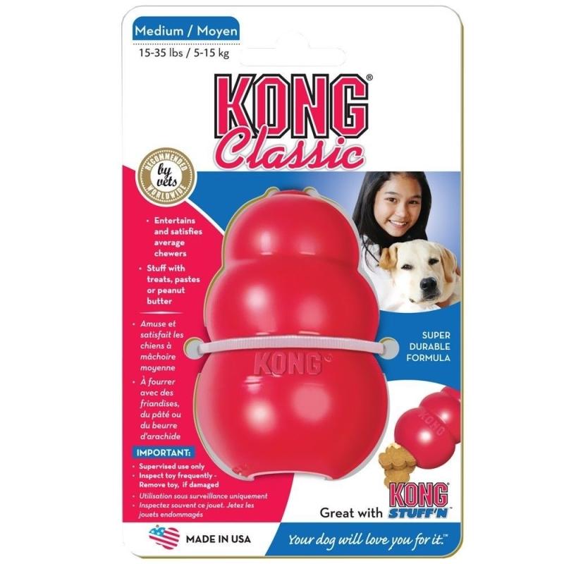 KONG Classic Rød  0035585111216 erfaringer