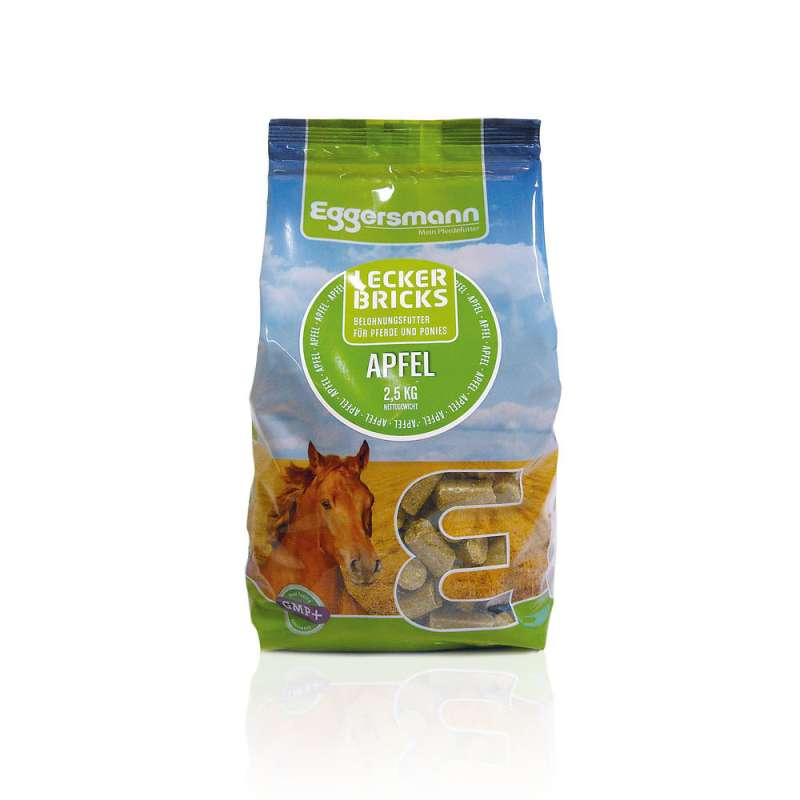Eggersmann Tasty Bricks Apple  Eple 2.5 kg