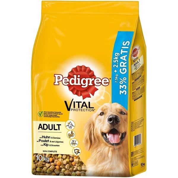 Pedigree Vital Protection Adult con Pollo y Verduras 10 kg 4008429086380 opiniones