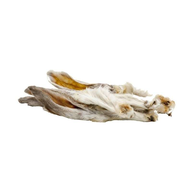 Classic Dog Snack Orecchie di Coniglio con Pelo 100 g con uno sconto