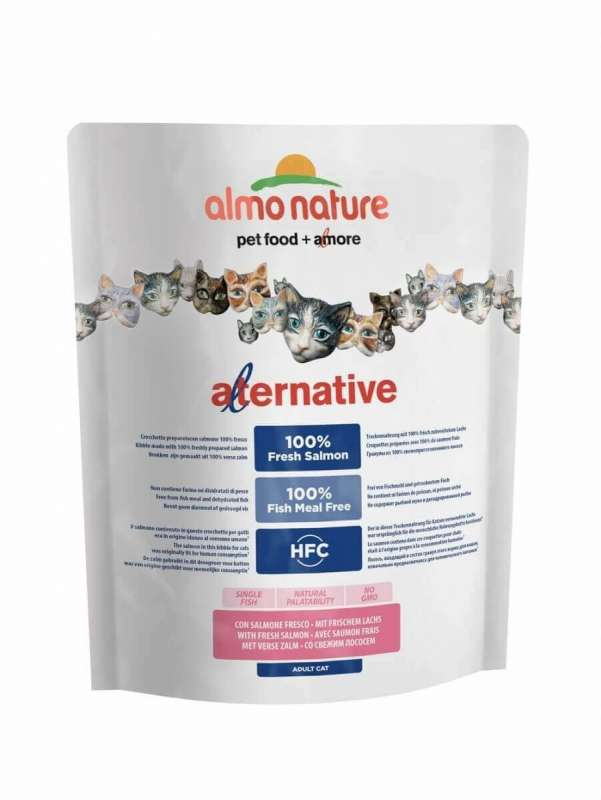 Almo Nature Alternative Dry Frischer Lachs 2 kg, 750 g Test