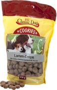 Classic Dog Snack Cookies Gotas de Cordeiro 500 g