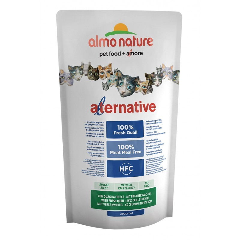 Almo Nature Alternative Dry Frischer Wachtel 750 g 8001154126907