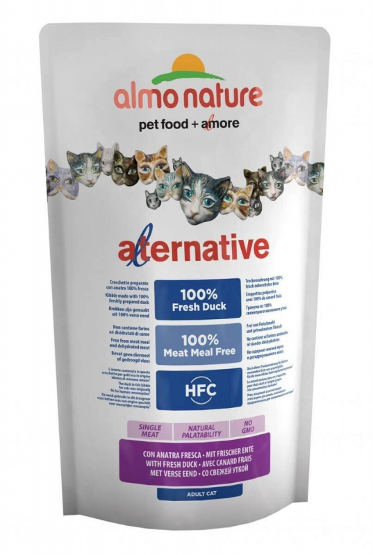 Almo Nature Alternative Dry Frischer Ente 750 g