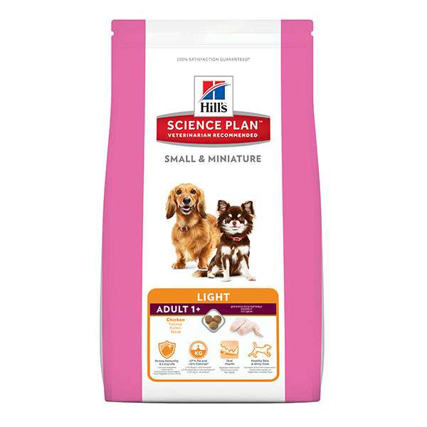 Hill's Science Plan Canine Adult Small & Miniature Light Original Kip 1.4 kg, 300 g
