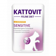 Kattovit Feline Diet Sensitive con Pollo & Pato 85 g