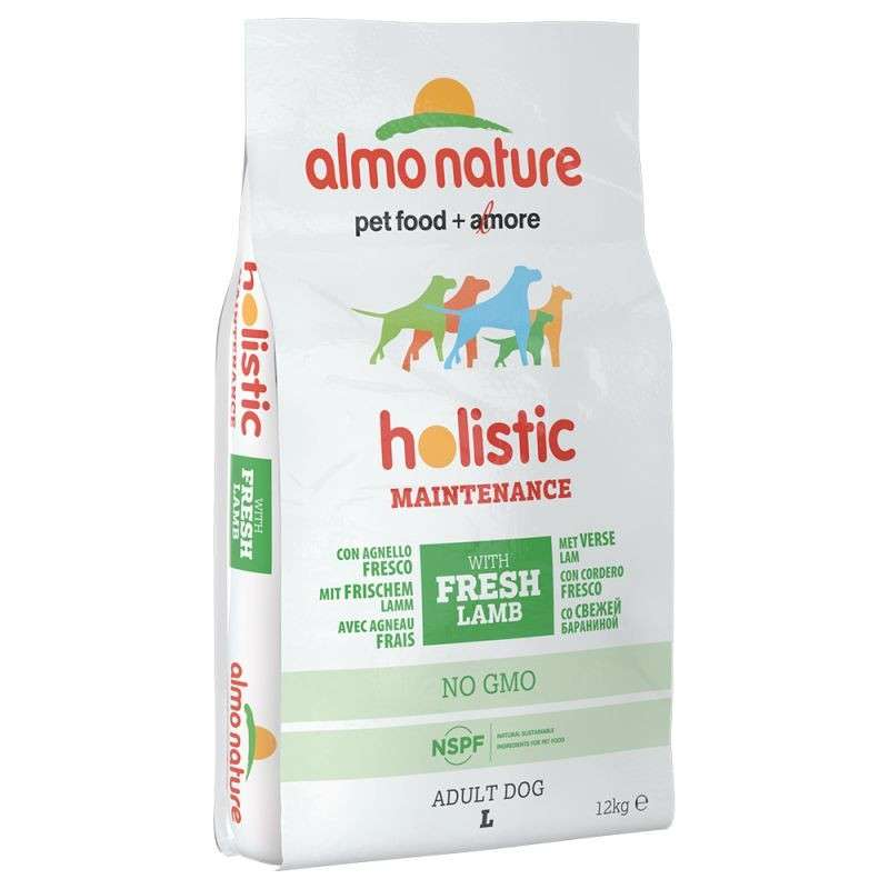 Almo Nature Holistic Adult Dog Large Lam & Rijst 12 kg