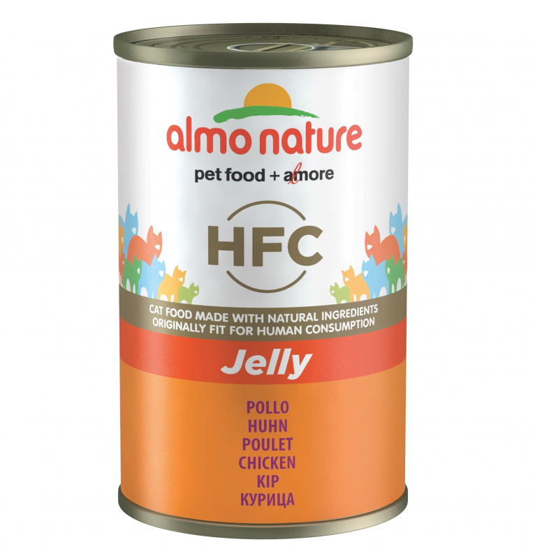 Almo Nature HFC Jelly with Chicken Canned 140 g