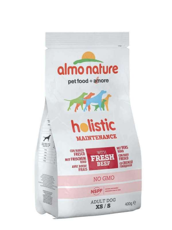 Almo Nature Holistic Adult Rund & Rijst Small 400 g 8001154125511