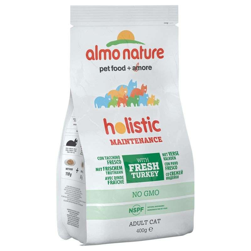 Almo Nature Holistic Adult Cat Dinde et Riz 400 g 8001154121339 avis