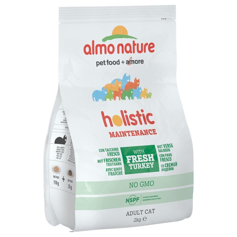 Almo Nature Holistic Adult Cat Dinde et Riz 2 kg